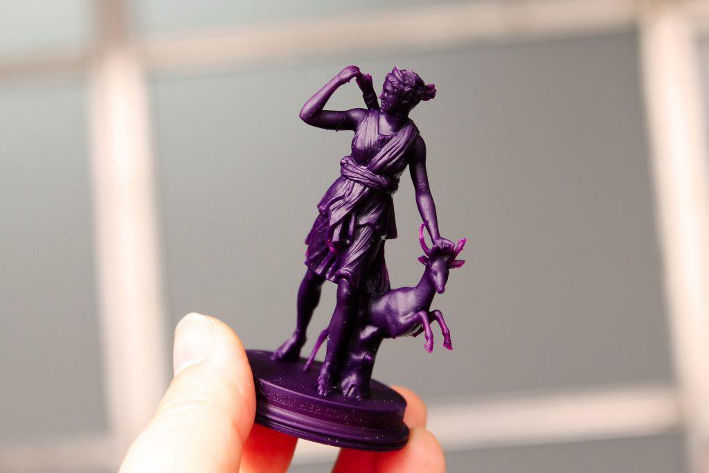 3D Printing Materials - Castable Wax Resin - Makelab - Final Model
