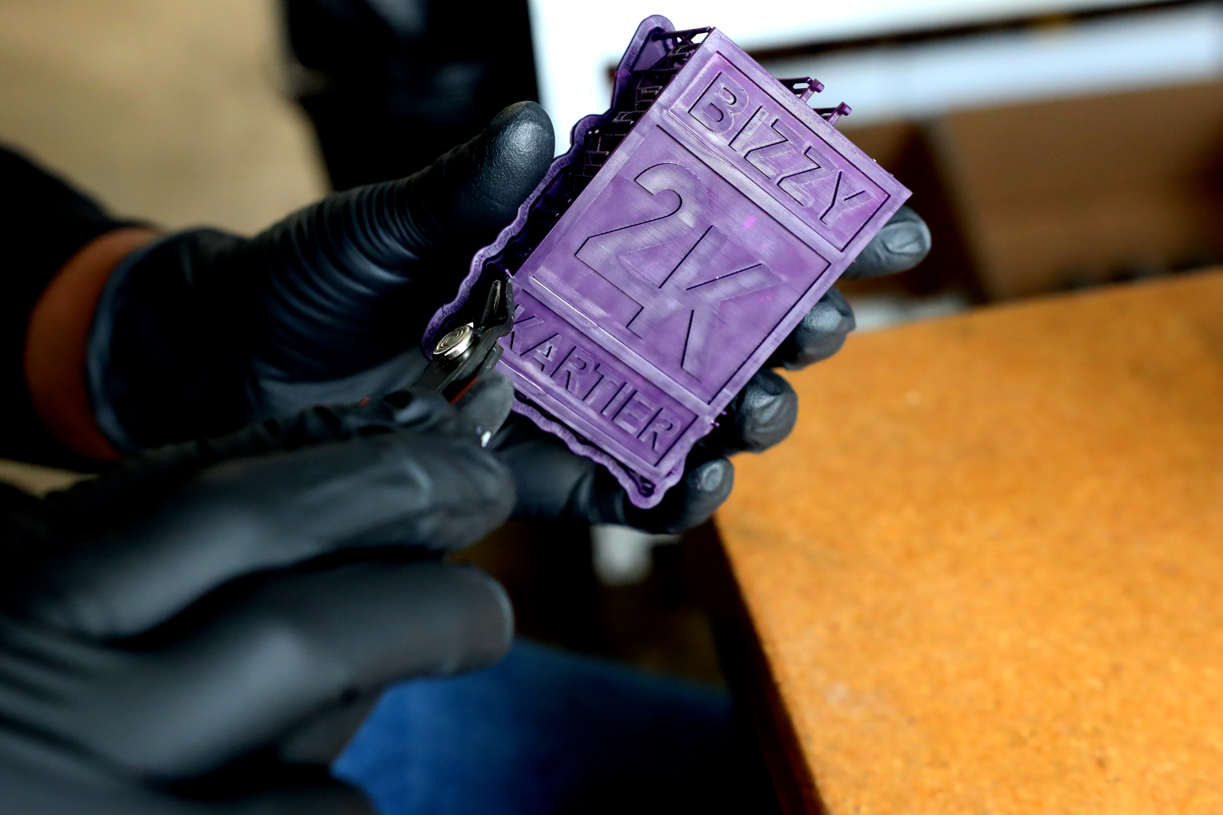 3D Printing Materials - Castable Wax Resin - Makelab - Jewelry Process Photo