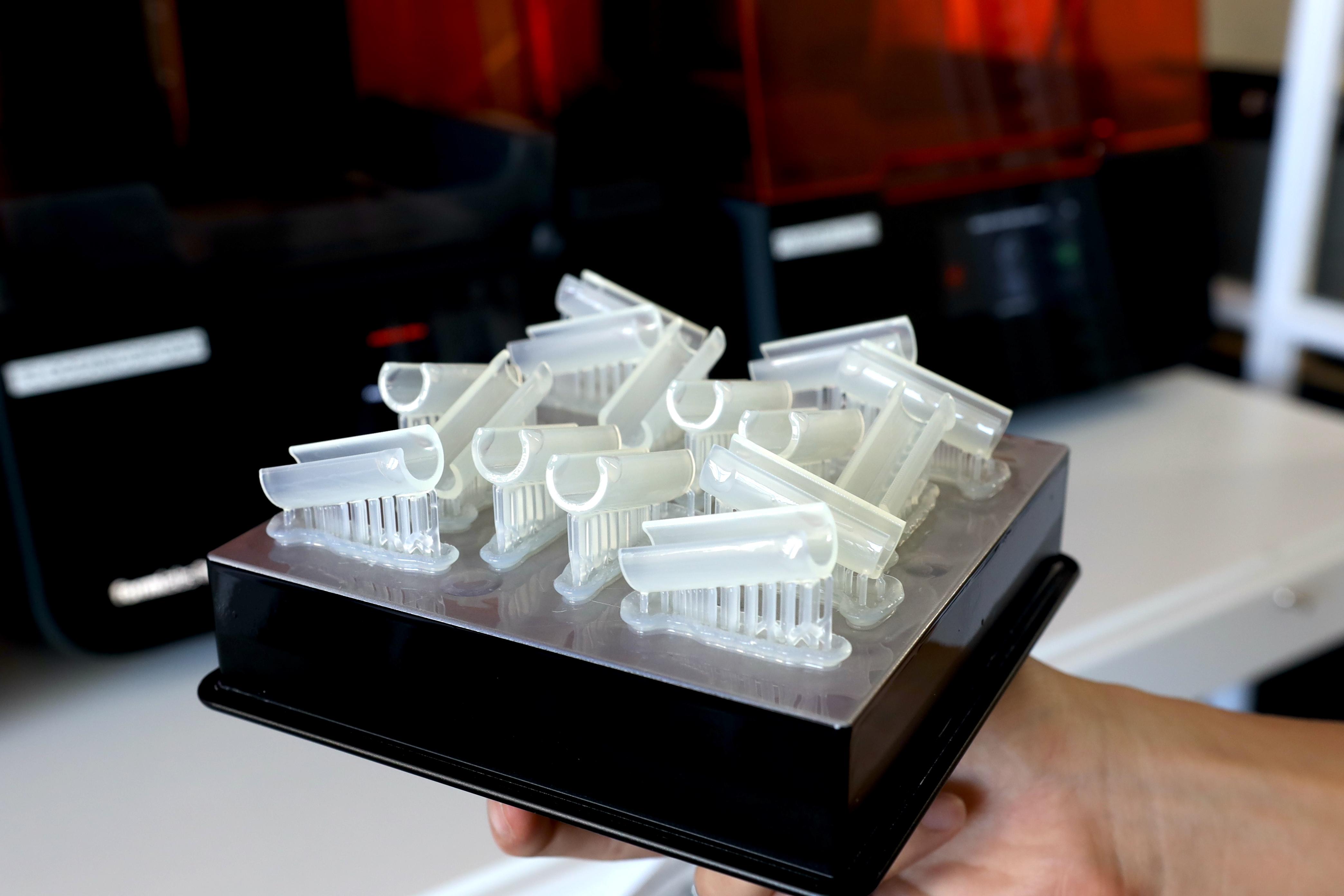 3D Printing Materials - Durable Resin - Makelab - Process Photo