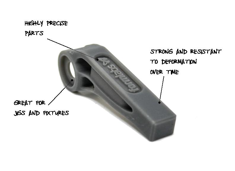 3D Printing Materials - Grey Pro Resin - Makelab - Description