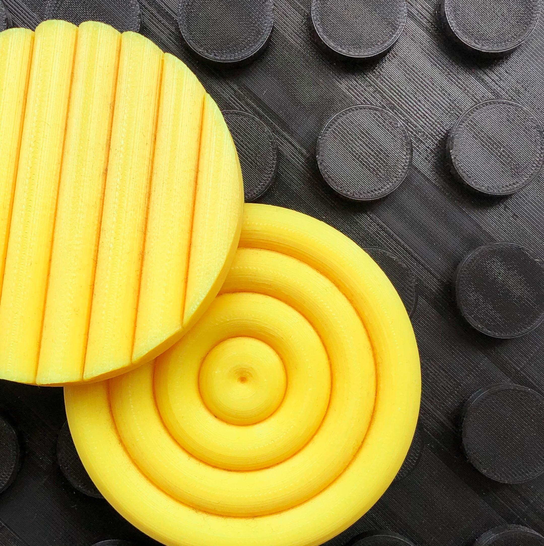Makelab - 3D Printing Services - PLA Textures