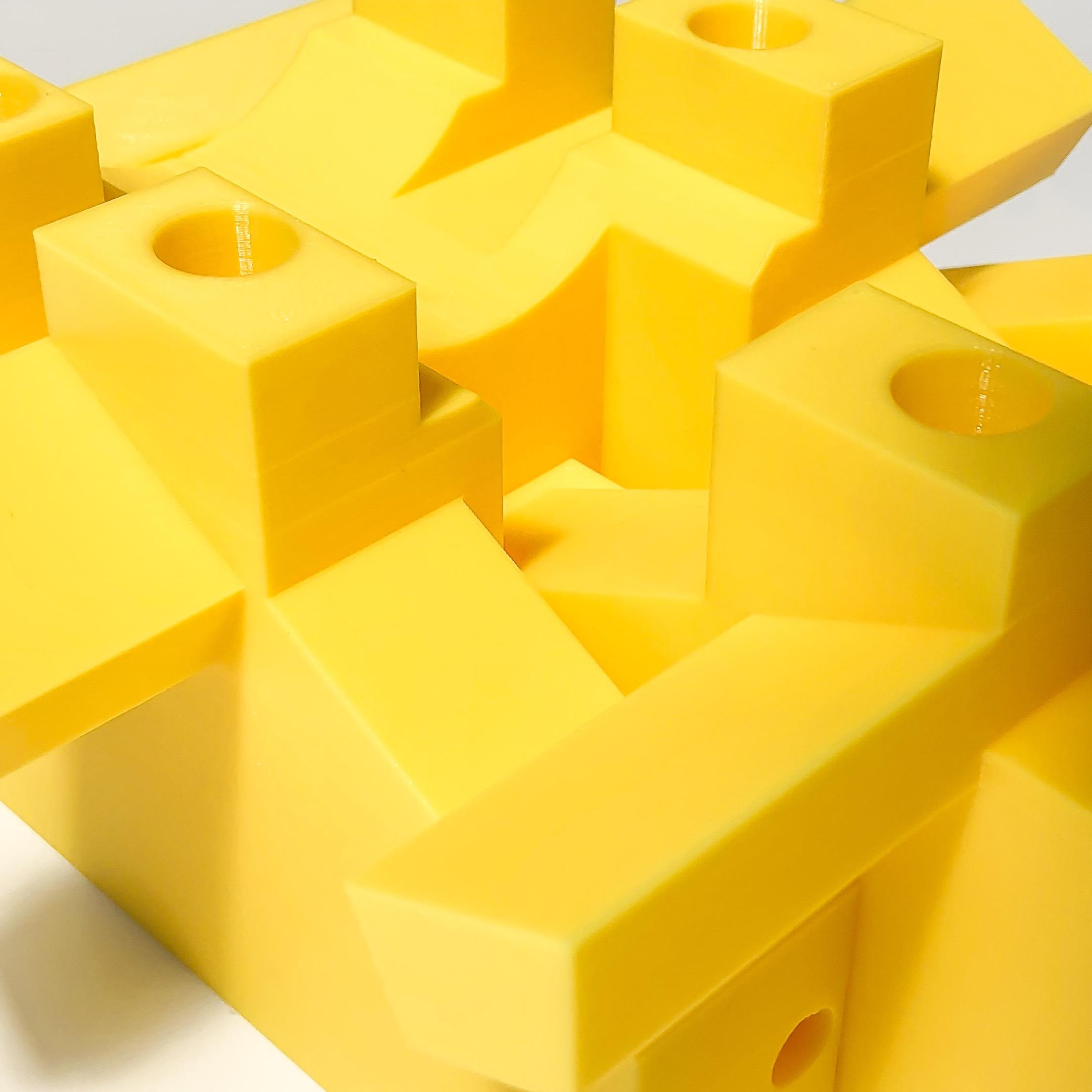 Makelab - 3D Printing Services - PLA Closeup