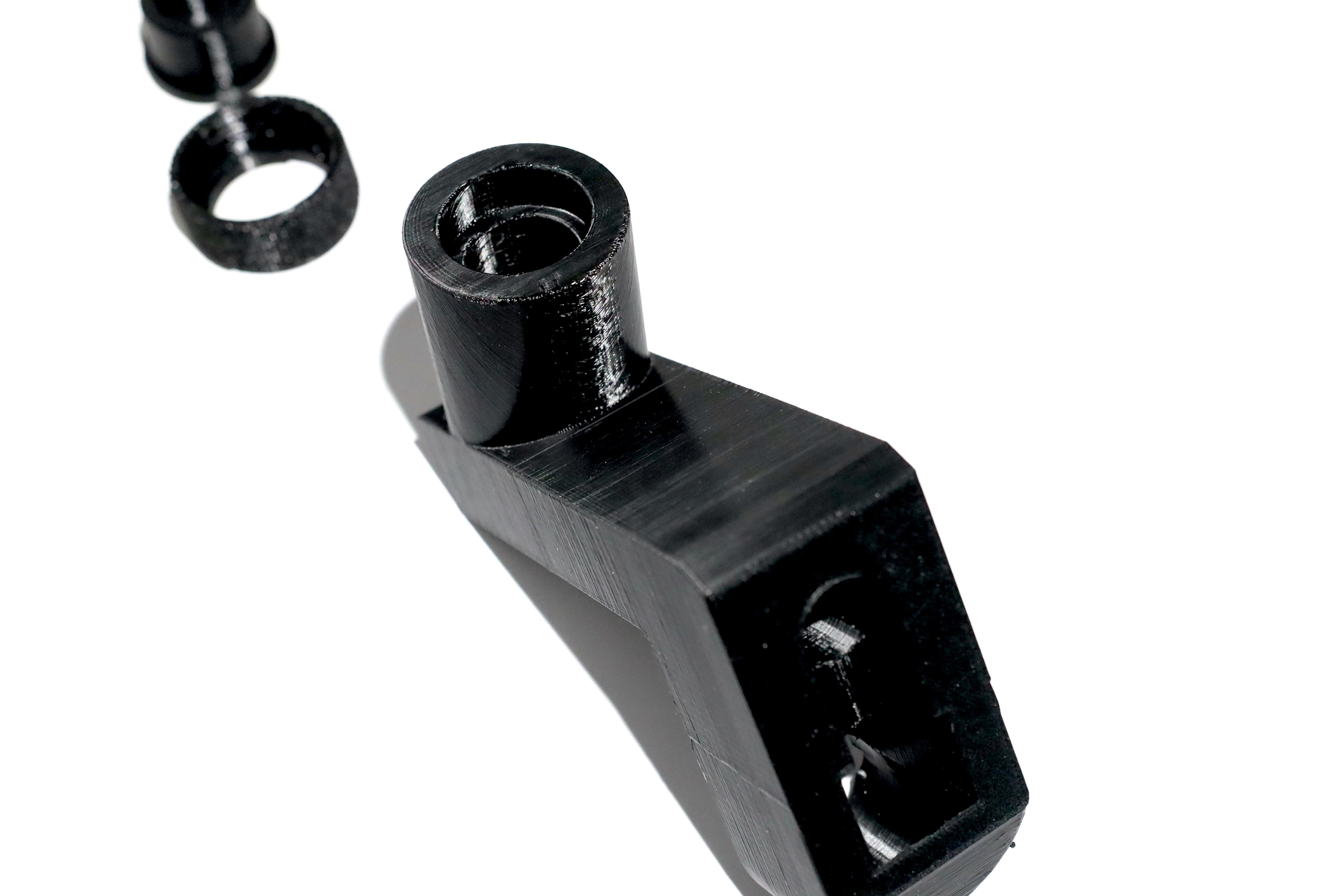 3D Printing Materials - PETG - Makelab - Part Closeup