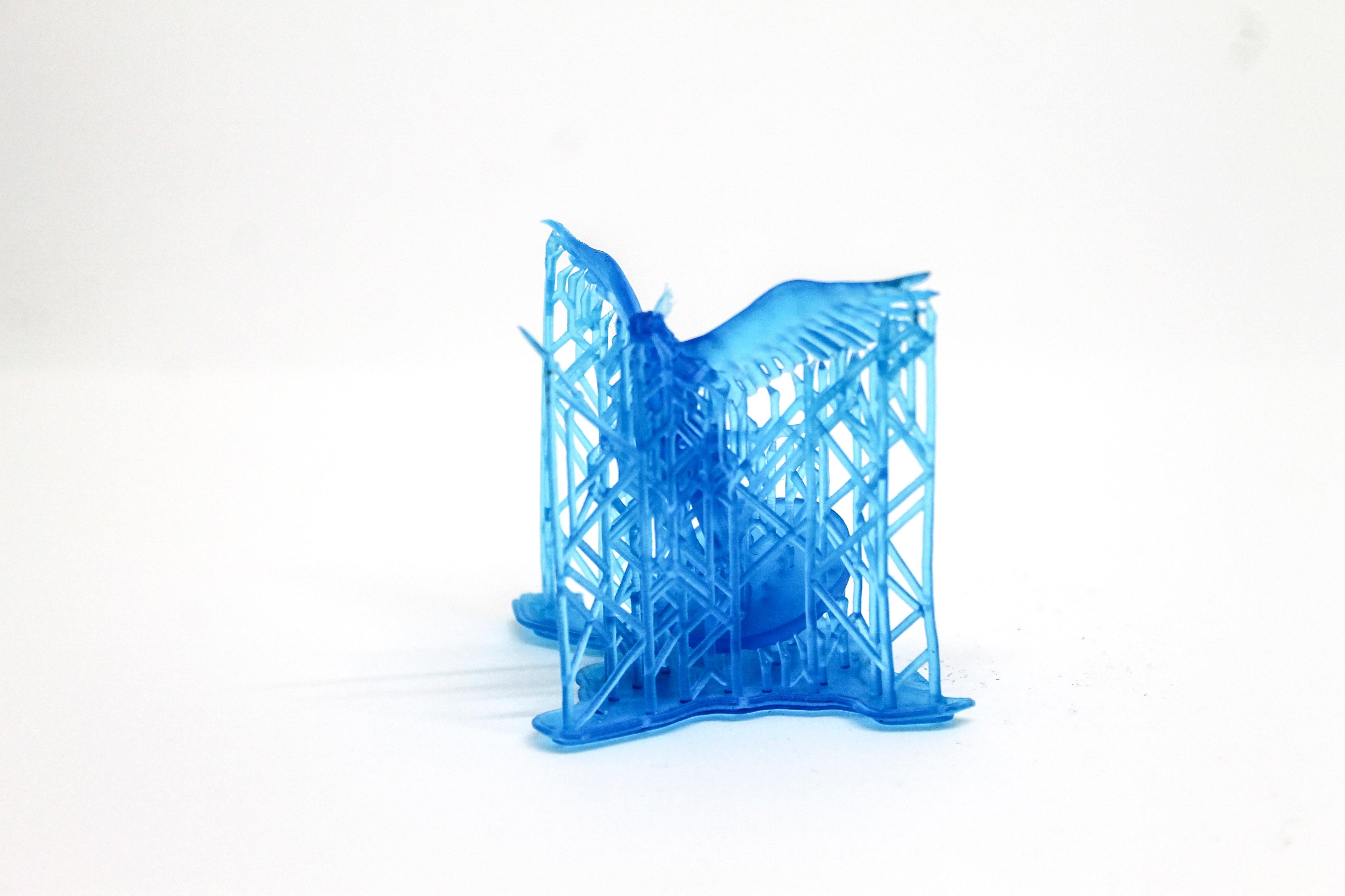 3D Printing Materials - Tough Resin - Makelab - Figurine